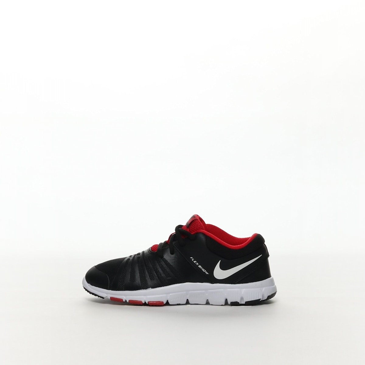 7e827e9db615b Boys  Nike Flex Show TR 5 (GS PS) Training Shoe - BLACK WHITE – Resku