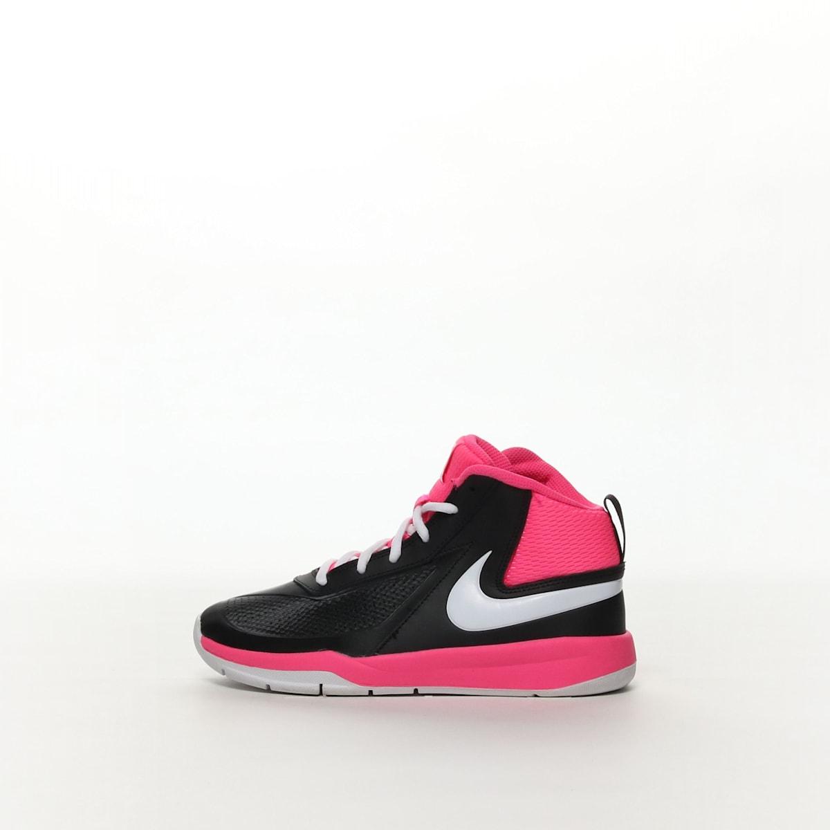 cdfb083586 Boys' Nike Team Hustle D 7 (GS) Basketball Shoe - BLACK/WHITE – Resku
