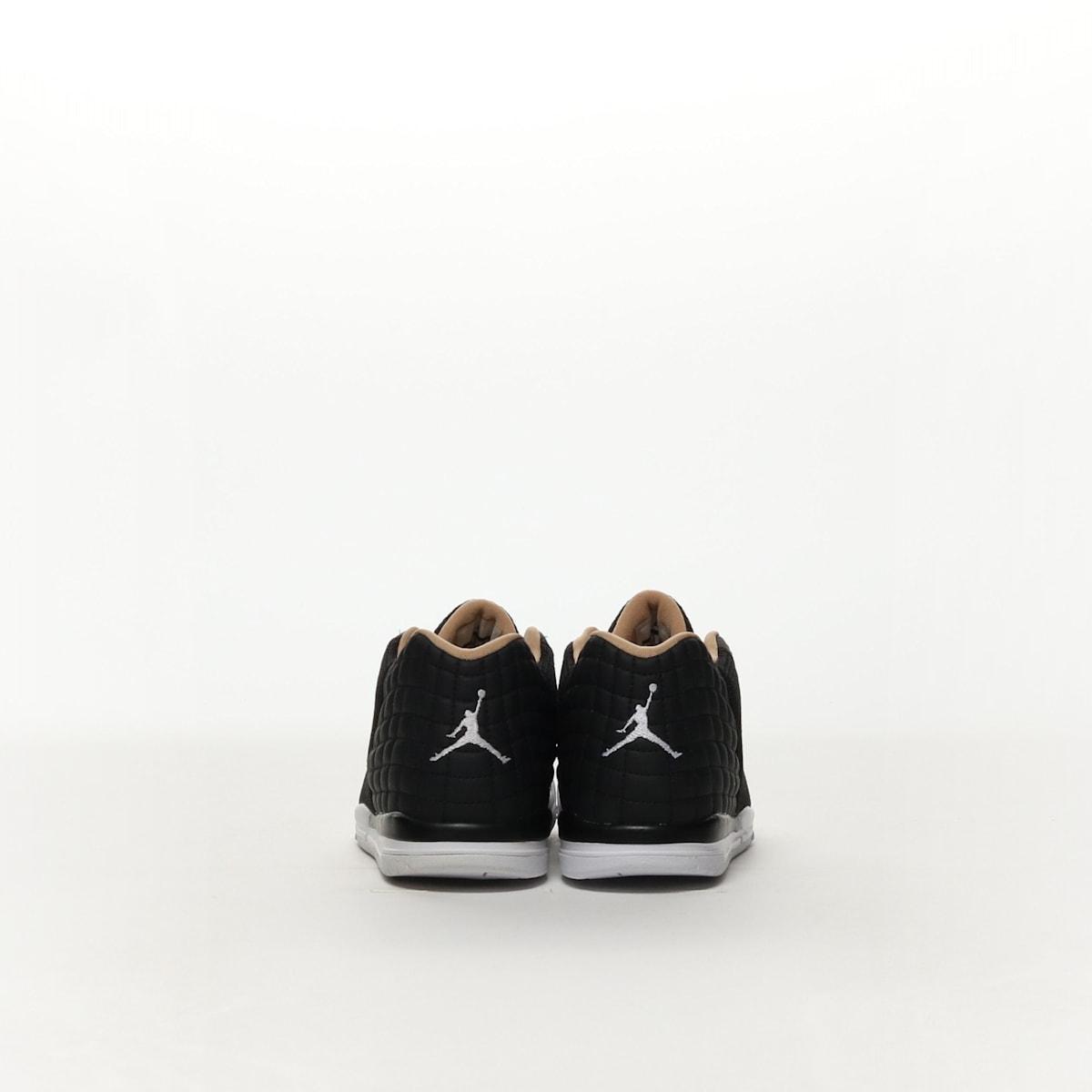 69f95ed8b012 Boys  Jordan Academy (PS) Pre-School Shoe - BLACK WHITE-COOL GREY ...