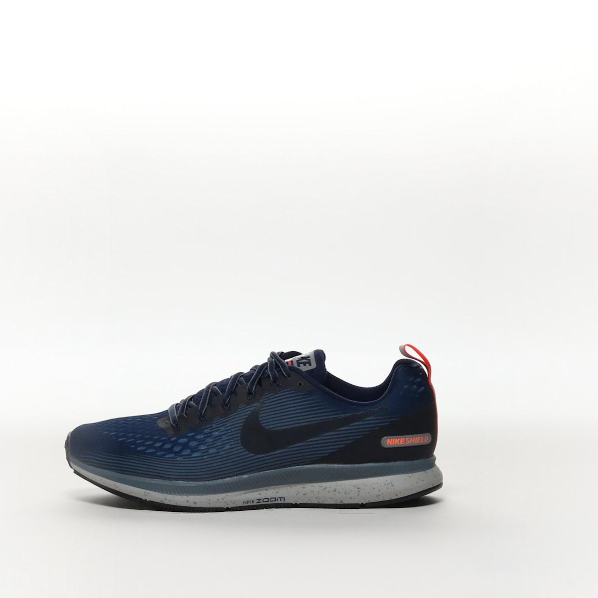 bda4b8eb81c82 Nike Air Zoom Pegasus 34 Shield - BINARY BLUE ARMORY BLUE OBSIDIAN ...