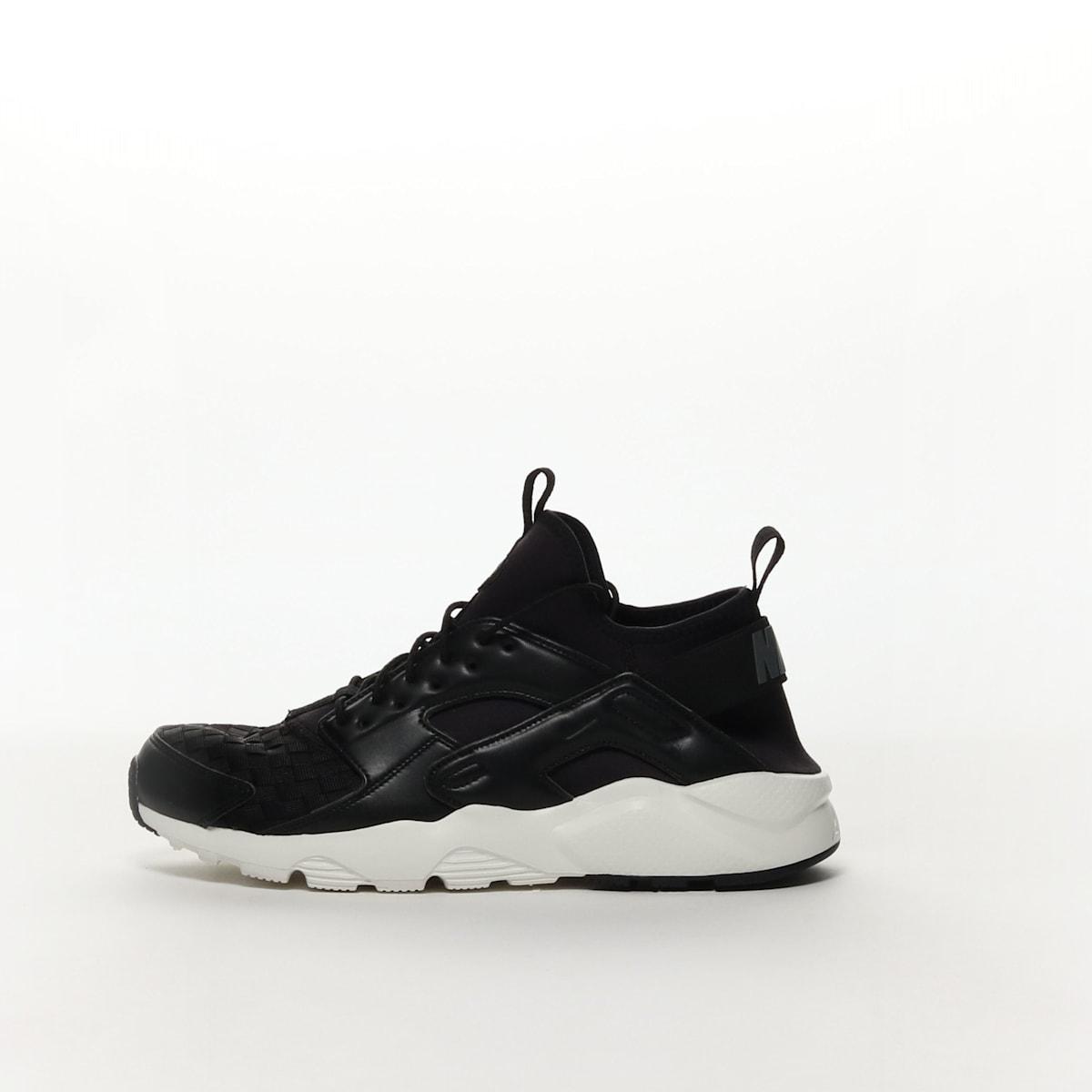 5102d57a61e74 Men s Nike Air Huarache Run Ultra SE Shoe - BLACK DARK GREY-SAIL ...