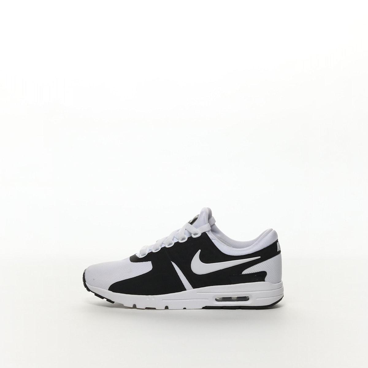 6b66552437 Women's Nike Air Max Zero Shoe - BLACK/WHITE – Resku