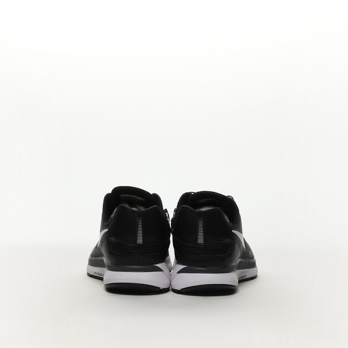 2756fa8729796 Nike Air Zoom Pegasus 34 FlyEase - BLACK DARK GREY ANTHRACITE WHITE ...