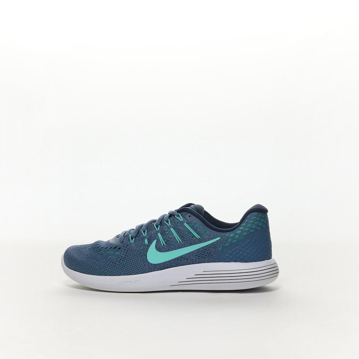 0d2ccf28a1316 Women s Nike LunarGlide 8 Running Shoe - OCEAN FOG HYPER TURQ-BLUE ...