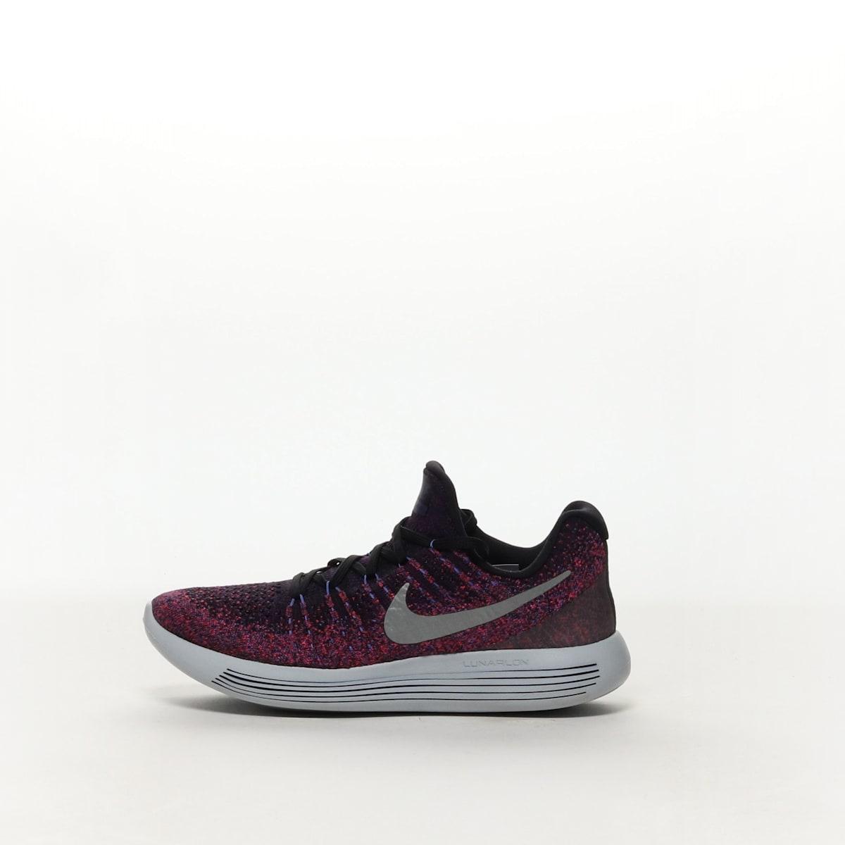 39d52804d62 Women s Nike LunarEpic Low Flyknit 2 Running Shoe - BLACK METALLIC ...