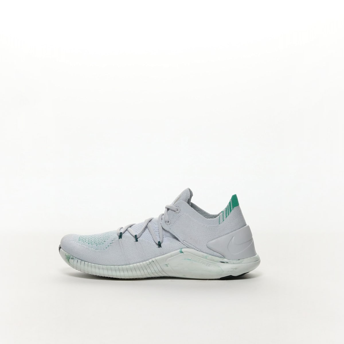 4c61d41aa370 Nike Free TR Flyknit 3 AMP Women s Training Shoe - PURE PLATINUM ...