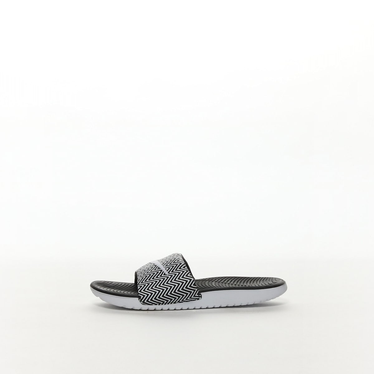 d365334f6 Women s Nike Kawa Slide Print Sandal - BLACK WHITE – Resku