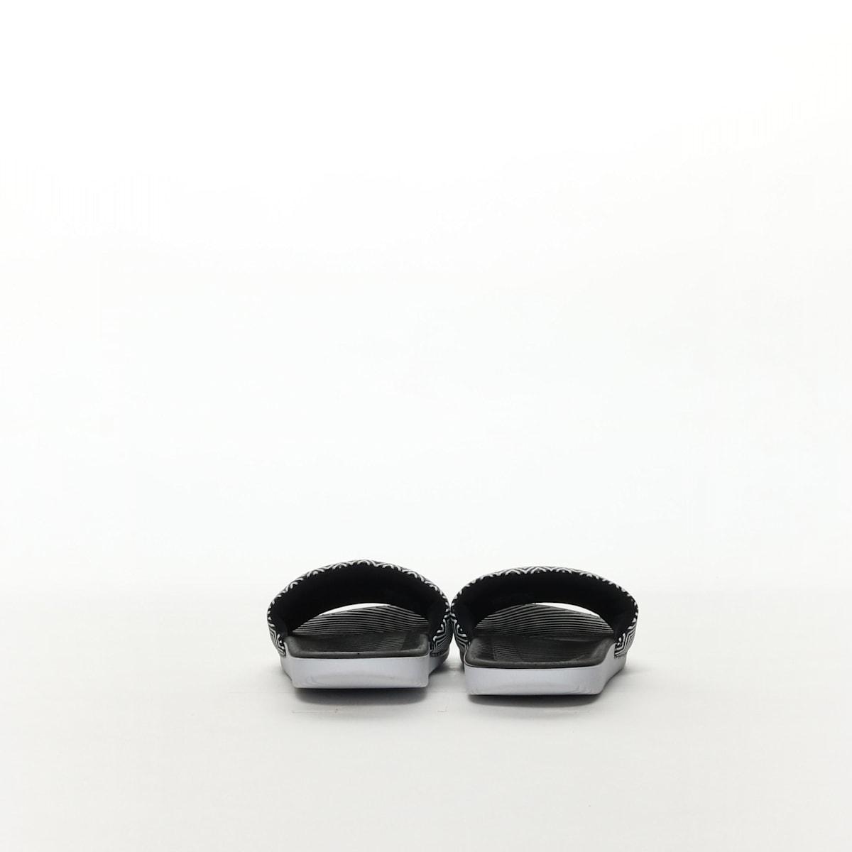 760b9e87126b Women s Nike Kawa Slide Print Sandal - BLACK WHITE – Resku