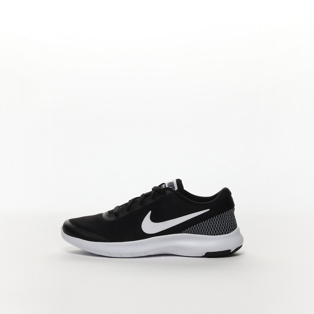 c9f0ff7e10bee Women s Nike Flex Experience RN 7 (W) Running Shoe - BLACK WHITE ...