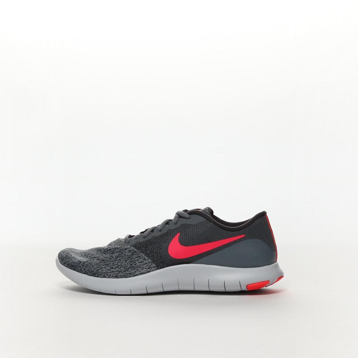 f66db943721 Women s Nike Flex Contact Running Shoe - COOL GREY SOLAR RED ...