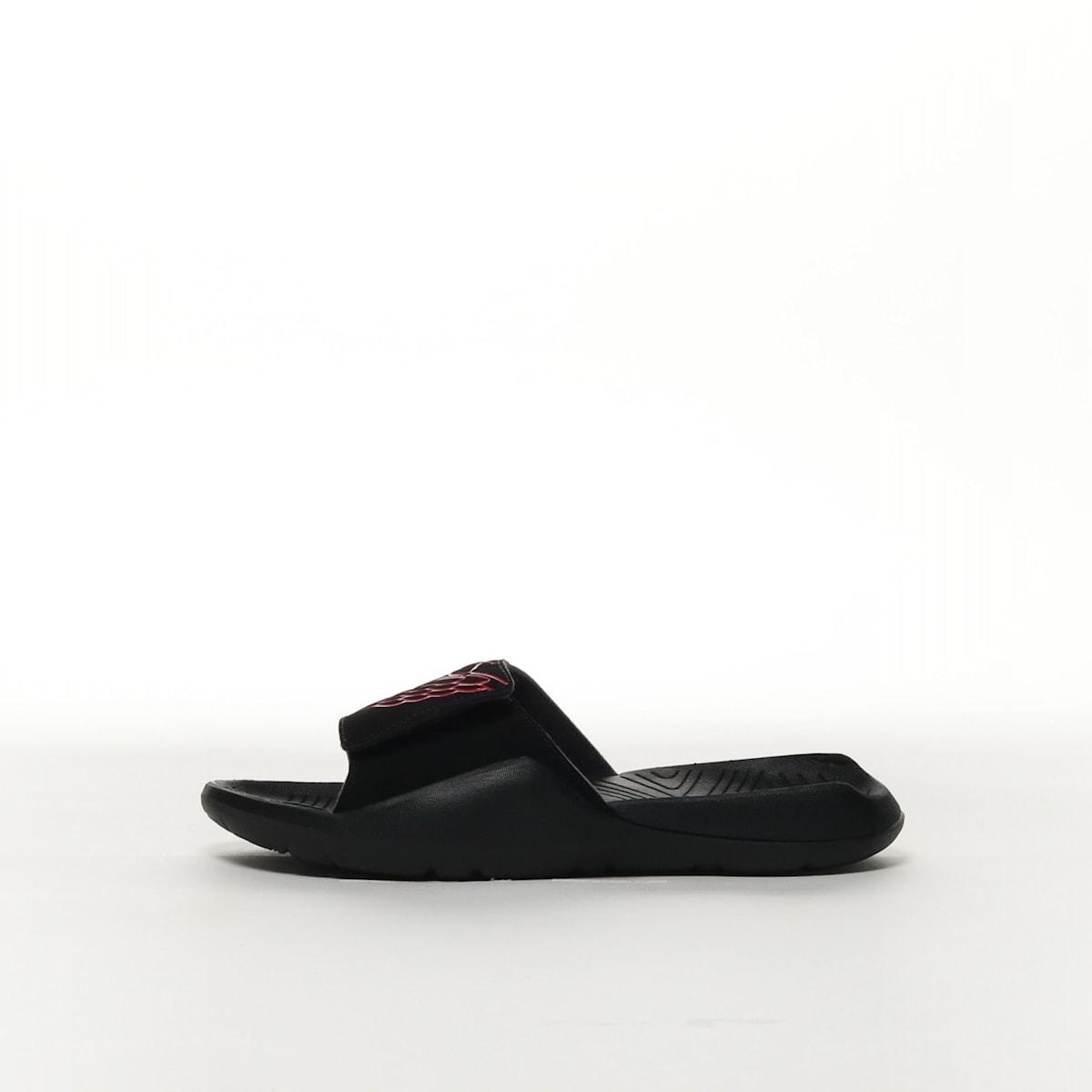 64d8339b2416 Jordan Hydro 7 - BLACK BLACK BLACK UNIVERSITY RED – Resku
