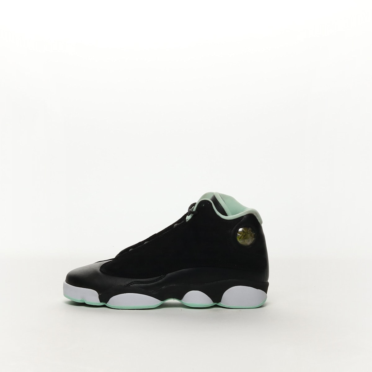a80a9373bc9 Girls' Air Jordan 13 Retro (GS) Shoe - BLACK/METALLIC GOLD-MINT FOAM ...
