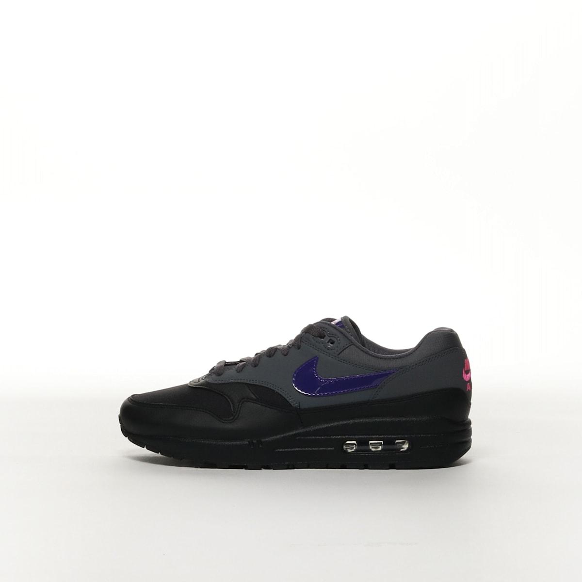 online store 4140f 24864 Nike Air Max 1 - DARK GREY BLACK PINK BLAST FIERCE PURPLE â