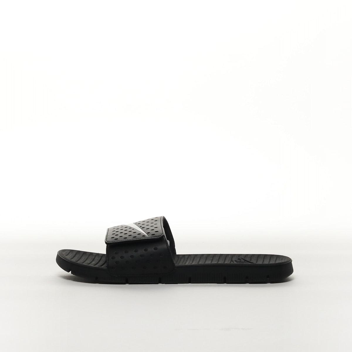 feb44195229d Nike Flex Motion Men s Slide - BLACK WHITE – Resku