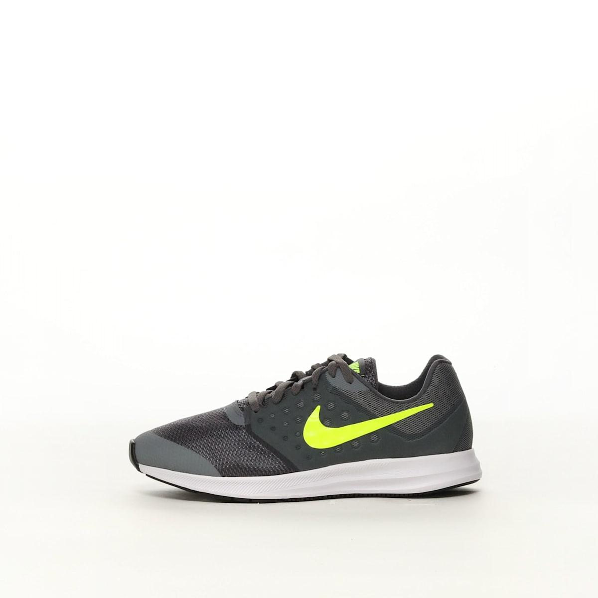 74fd5674fa610 Boys  Nike Downshifter 7 Wide (GS) Running Shoe - COL GY VOLT – Resku