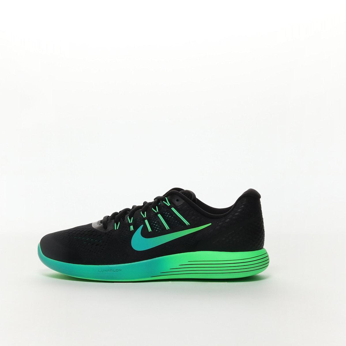 f2407f520c77 Men s Nike LunarGlide 8 Running Shoe - BLACK MULTI-COLOR-RIO TEAL ...
