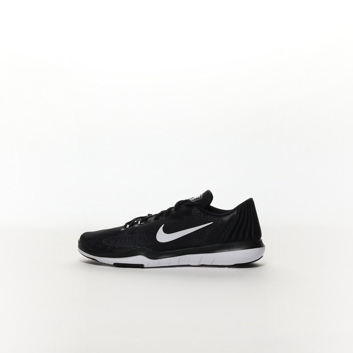 7c6244612f073 Women s Nike Flex Supreme TR 5 Training Shoe - BLACK WHITE – Resku