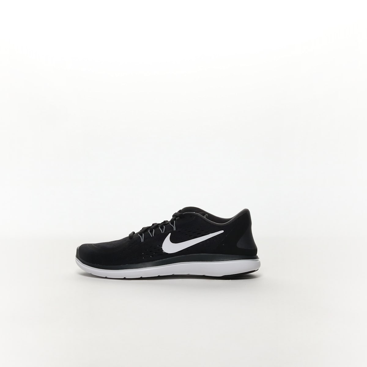 2ce46b38a8357 Men s Nike Flex 2017 RN Running Shoe - BLACK WHITE-ANTHRACITE-COOL ...