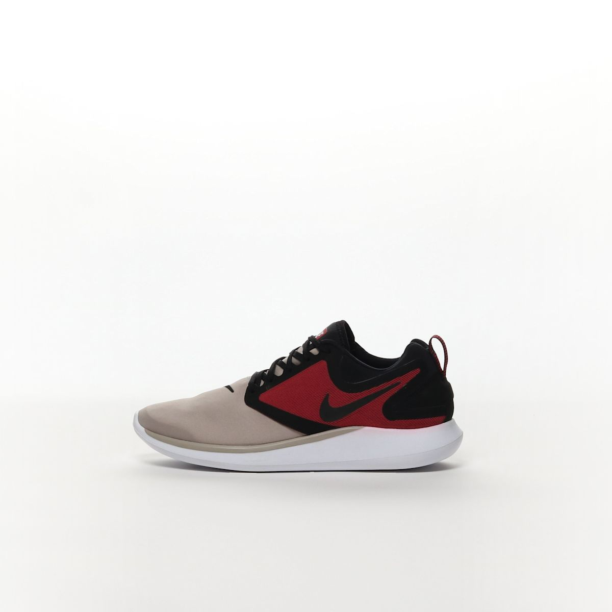 2d4d9f2c0561 Men s Nike LunarSolo Running Shoe - COBBLESTONE WHITE-TOUGH RED-BLACK –  Resku