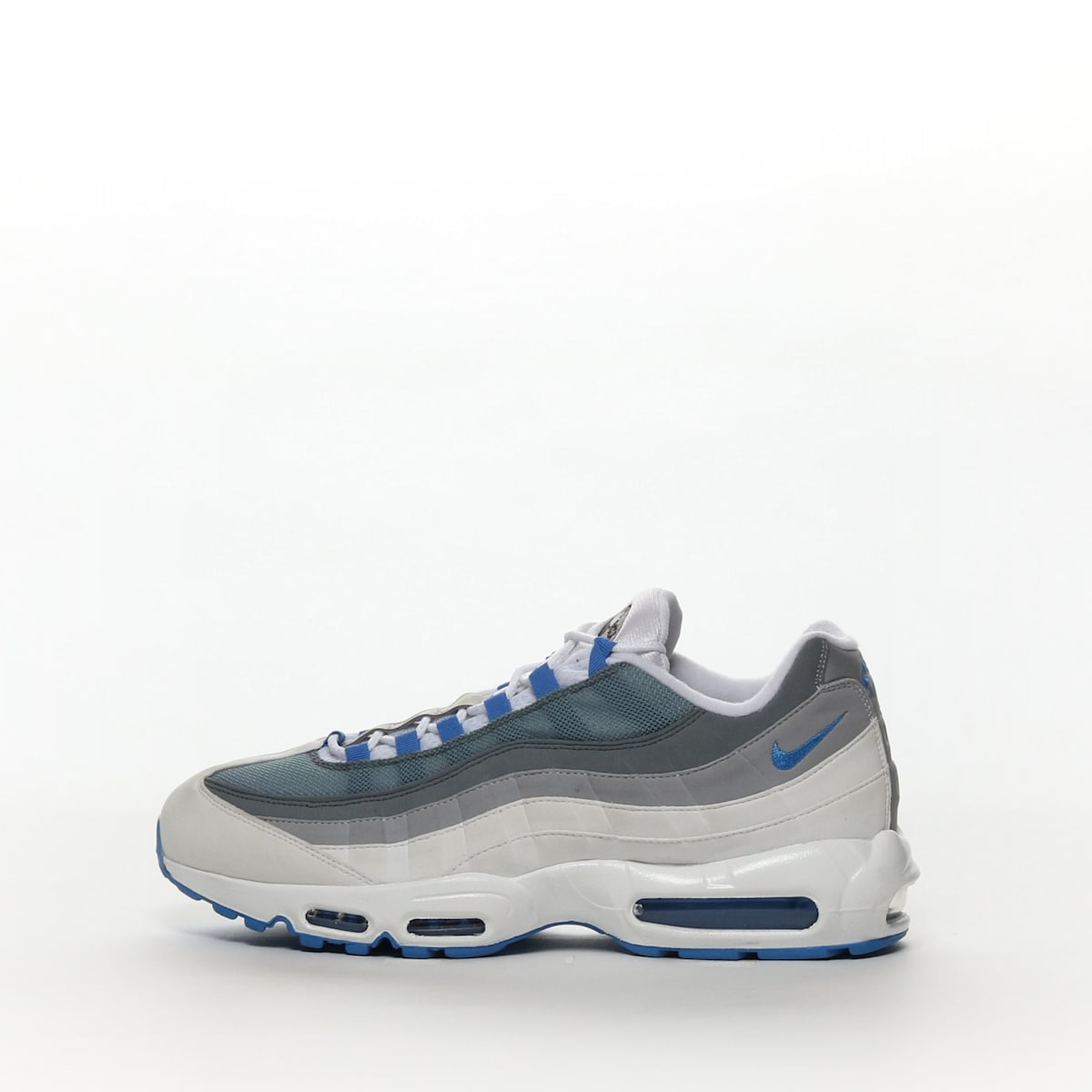 Men's Nike Air Max 95 ID White Grey 818592 996
