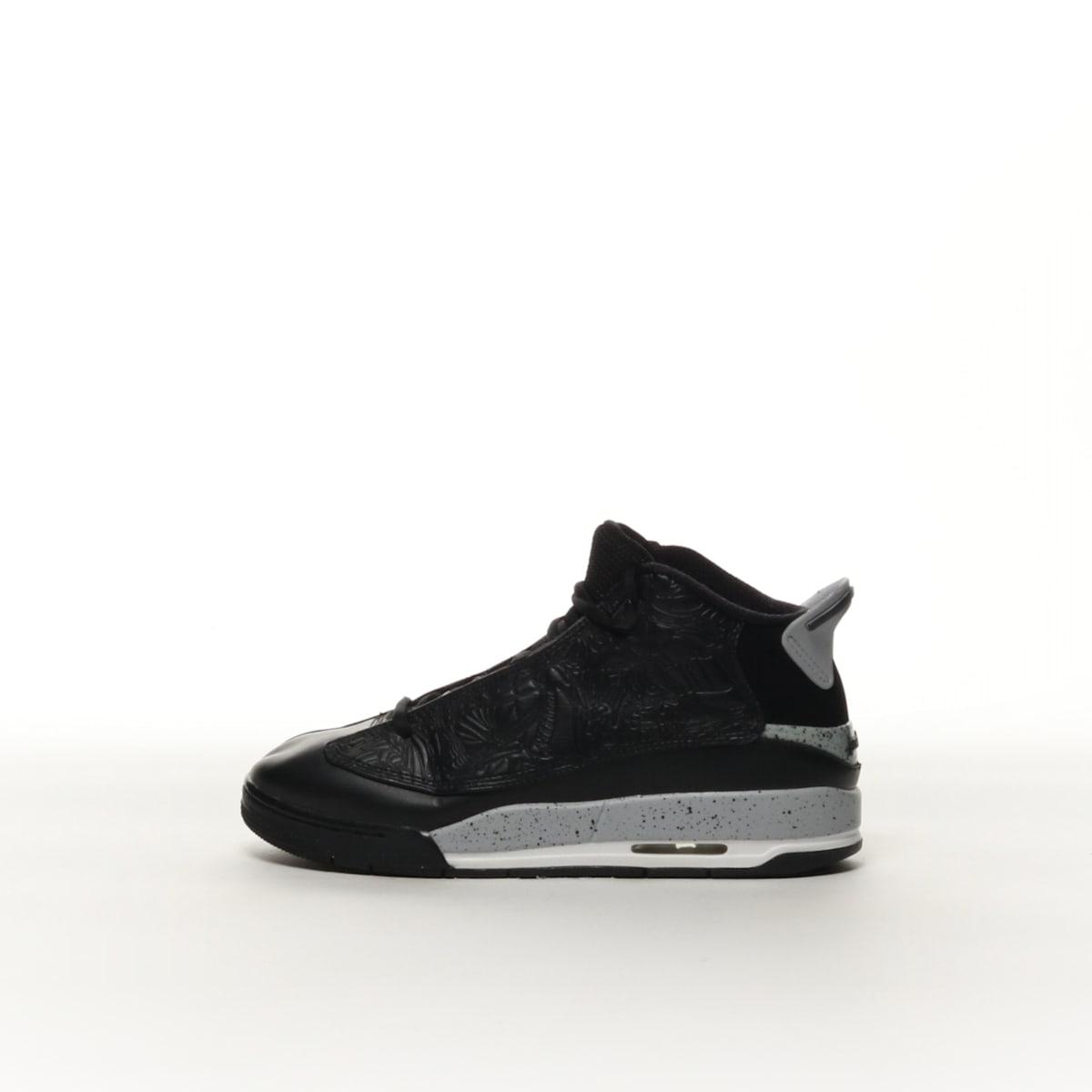 a60a828ab6 Boys' Air Jordan Dub Zero (GS) Shoe - BLACK/WOLF GREY-WHITE – Resku