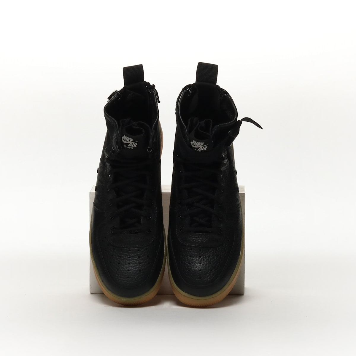 Nike SF Air Force 1 Mid - BLACK GUM LIGHT BROWN BLACK – Resku 52c0c7e8d