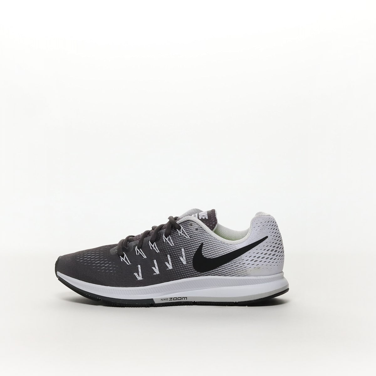 f622f89d0d18d Men s Nike Air Zoom Pegasus 33 Running Shoe - DARK GREY BLACK-WHITE ...