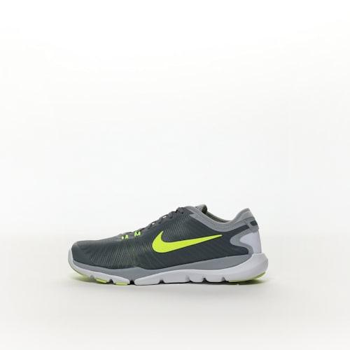 e222ba060698 Nike Flex Supreme TR 4 (Wide) Women s Training Shoe - COL GY VOLT ...