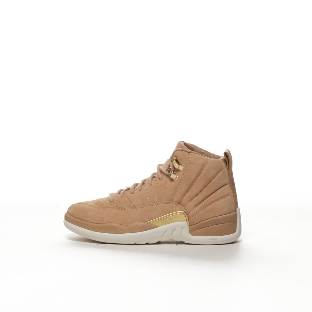 promo code 17ac4 6adab Women's Air Jordan 12 Retro Shoe - VACHETTA TAN/METALLIC GOLD-SAIL