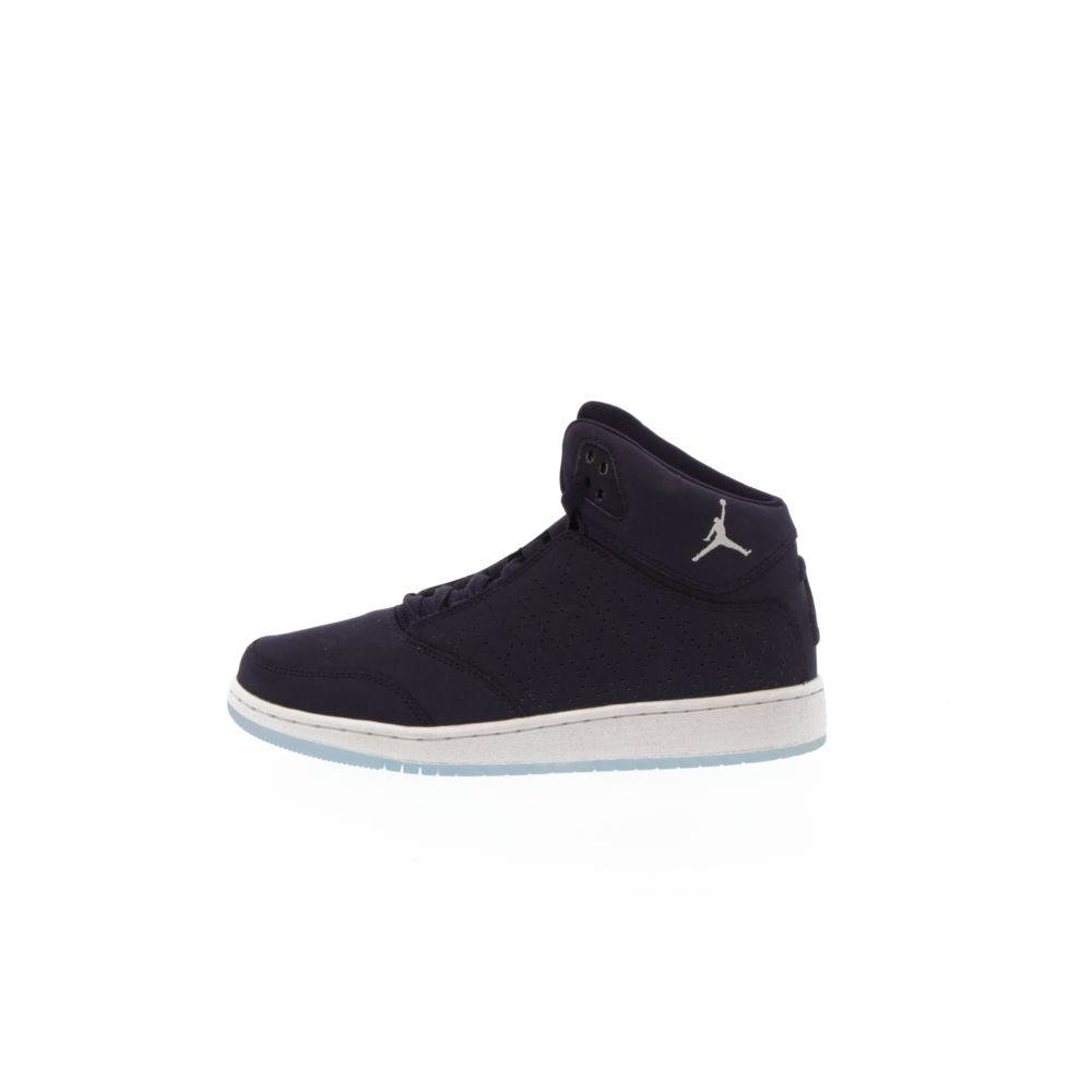regarder c2055 74e7e Girls' Jordan 1 Flight 5 Premium (GS) Shoe - PURPLE DYNASTY/WHITE-WHITE