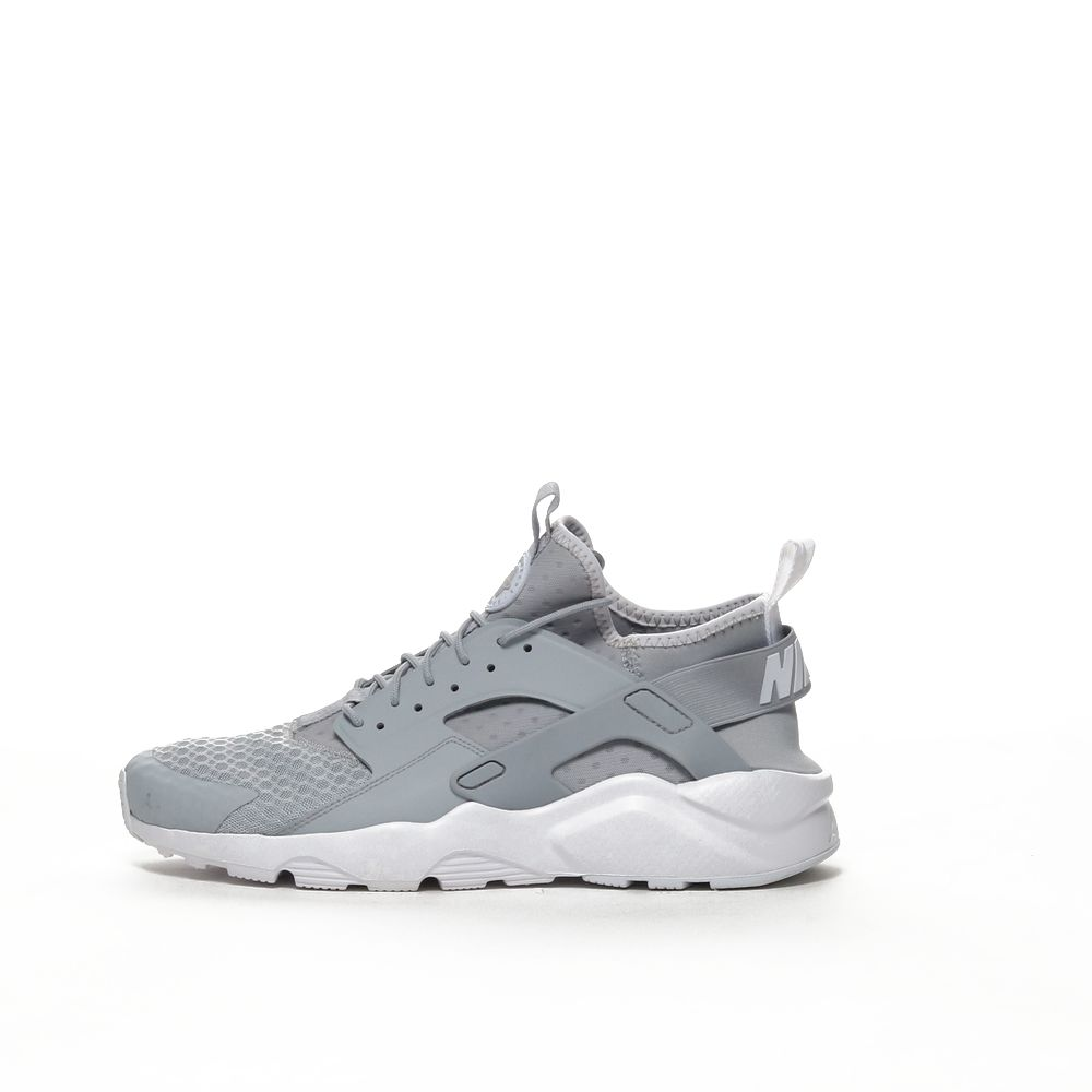 Nike Air Huarache Run Ultra Men S Shoe Wolf Grey Pale Grey White