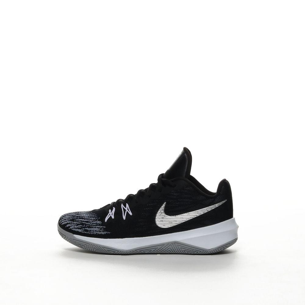 942888006 Men's Nike Zoom Evidence II Basketball Shoe - BLACK/M SILV – Resku