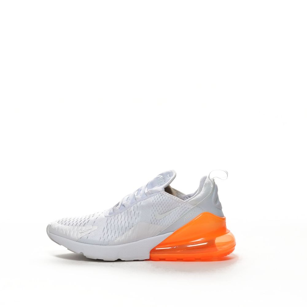 low priced aa72a dd87d Nike Air Max 270 - WHITE/TOTAL ORANGE/WHITE