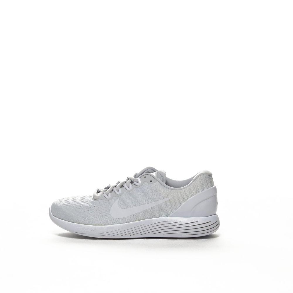 Women's Nike LunarGlide 9 Running Shoe PURE PLATINUMWHITE WHITE