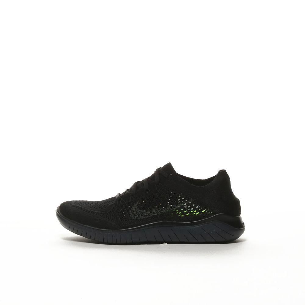 Running - Nike Free RN Flyknit 2018 Mens BlackAnthracite