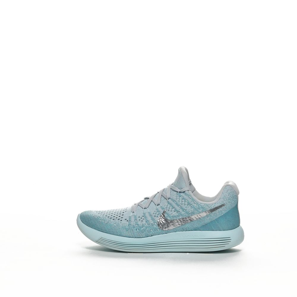 premium selection d4abf f285d W NIKE LUNAREPIC LOW FLYKNIT 2 - G BLUE/M SILV