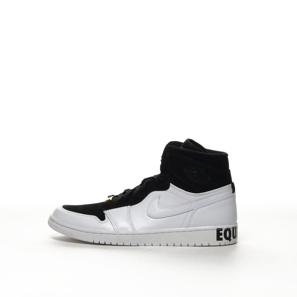 reputable site 35a84 fae1f Men's Air Jordan 1 Retro High Equality Shoe - BLACK/BLACK-WHITE-METALLIC  GOLD