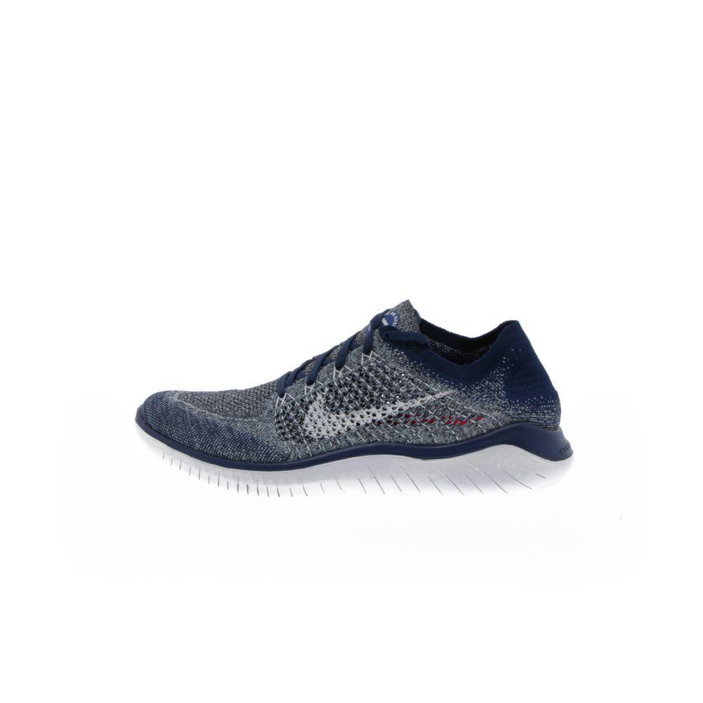 bfbda1aa68 Nike Free RN Flyknit 2018 - BLUE VOID/BLUE TINT/RED ORBIT/WHITE