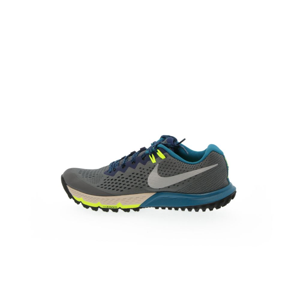 purchase cheap 44700 55f7b Nike Air Zoom Terra Kiger 4 - DARK GREY/BLUE VOID/GREEN ABYSS/METALLIC  SILVER
