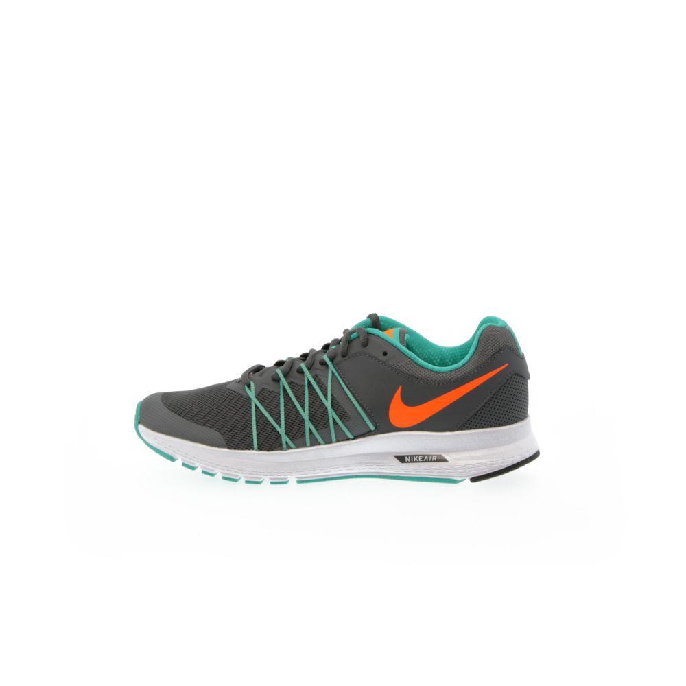 low cost 3dca9 7d16a Men's Nike Air Relentless 6 Running Shoe - DARK GREY/TOTAL ORANGE-CLEAR JADE