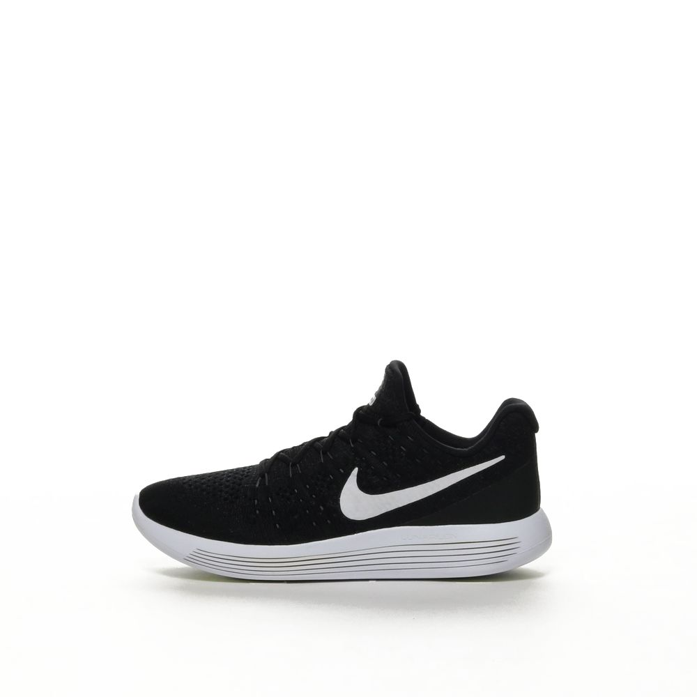 promo code 23310 93be1 Women's Nike LunarEpic Low Flyknit 2 Running Shoe - BLACK/WHITE
