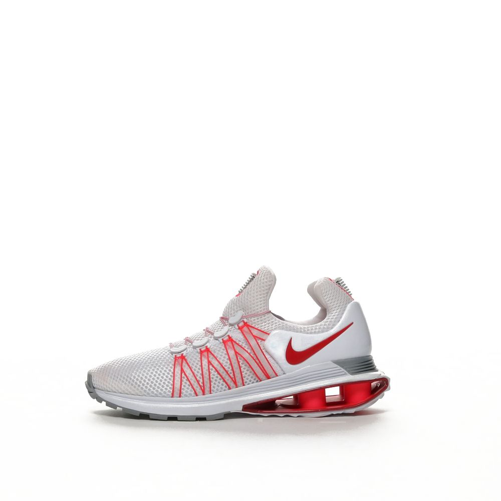 hot sale online 1ebfd e1b6c Nike Shox Gravity Women's Shoe - WHITE/UNVRED