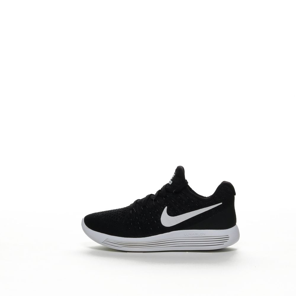 new styles 09af3 67992 W NIKE LUNAREPIC LOW FLYKNIT 2 - BLACK/WHITE