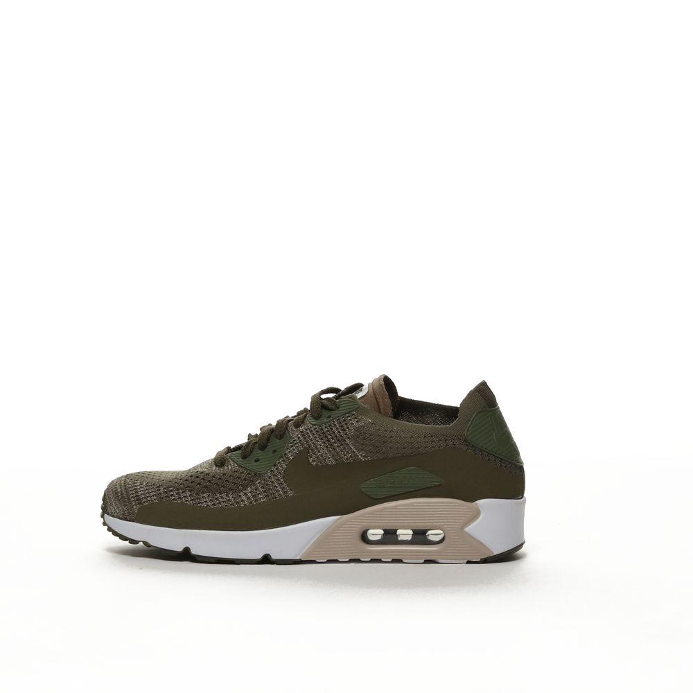 quality design 96595 f27a1 Men's Nike Air Max 90 Ultra 2.0 Flyknit Shoe - MDOLIV/MDOLIV