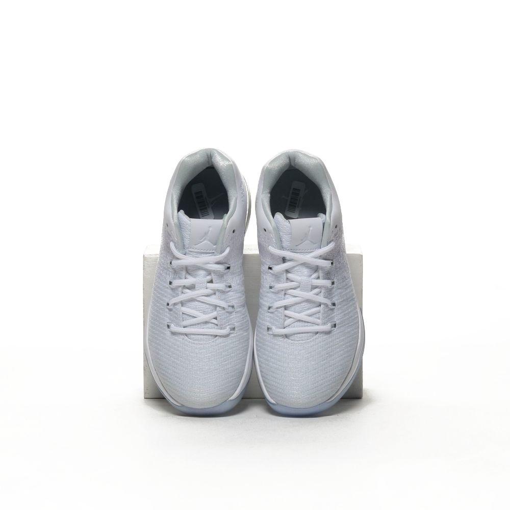 new product 622c2 055d7 Boys' Air Jordan XXXI Low Basketball Shoe - WHITE/PURE PLATINUM-METALLIC  SILVER