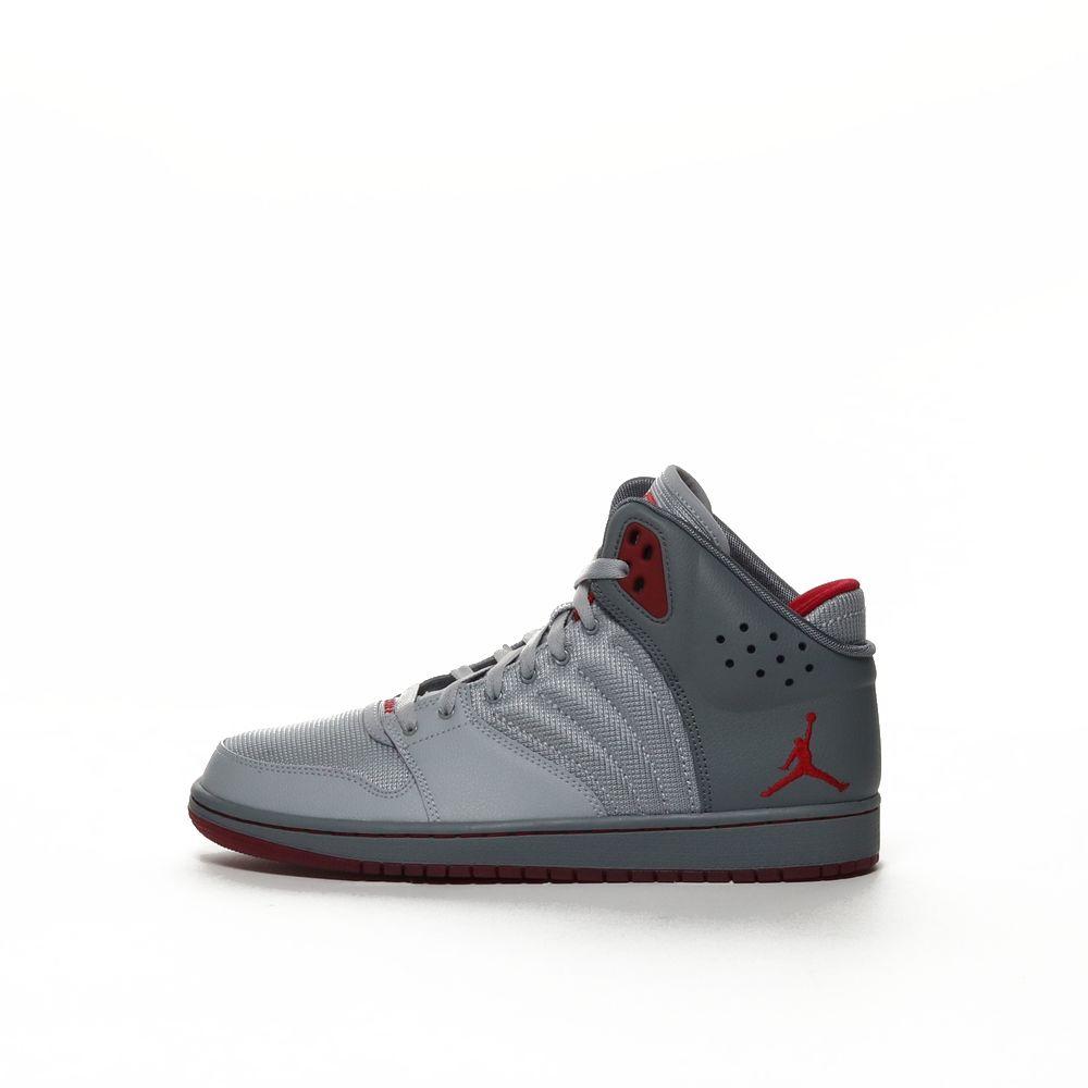 timeless design 17de6 61063 Men's Jordan 1 Flight 4 Premium Shoe - WLFGRY/GYMRED
