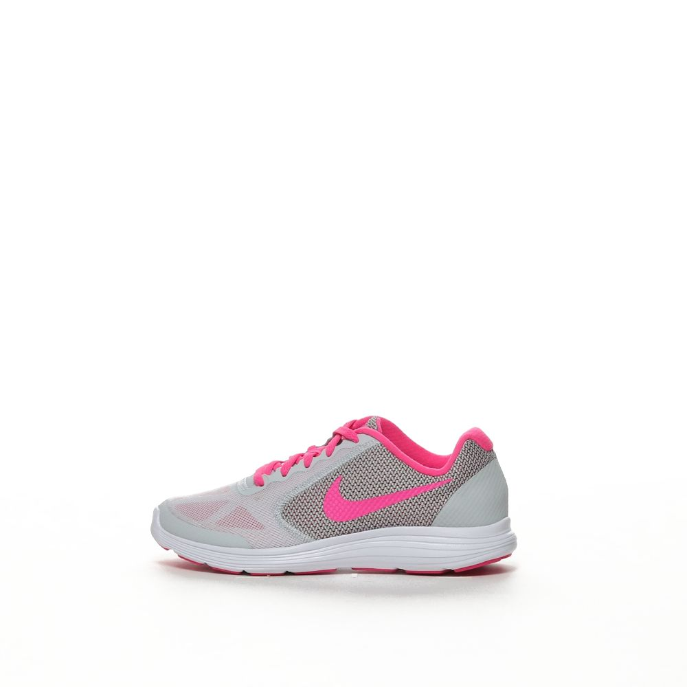 separation shoes c28f6 be642 Girls' Nike Revolution 3 (GS) Running Shoe - PRPLTM/PINBLA