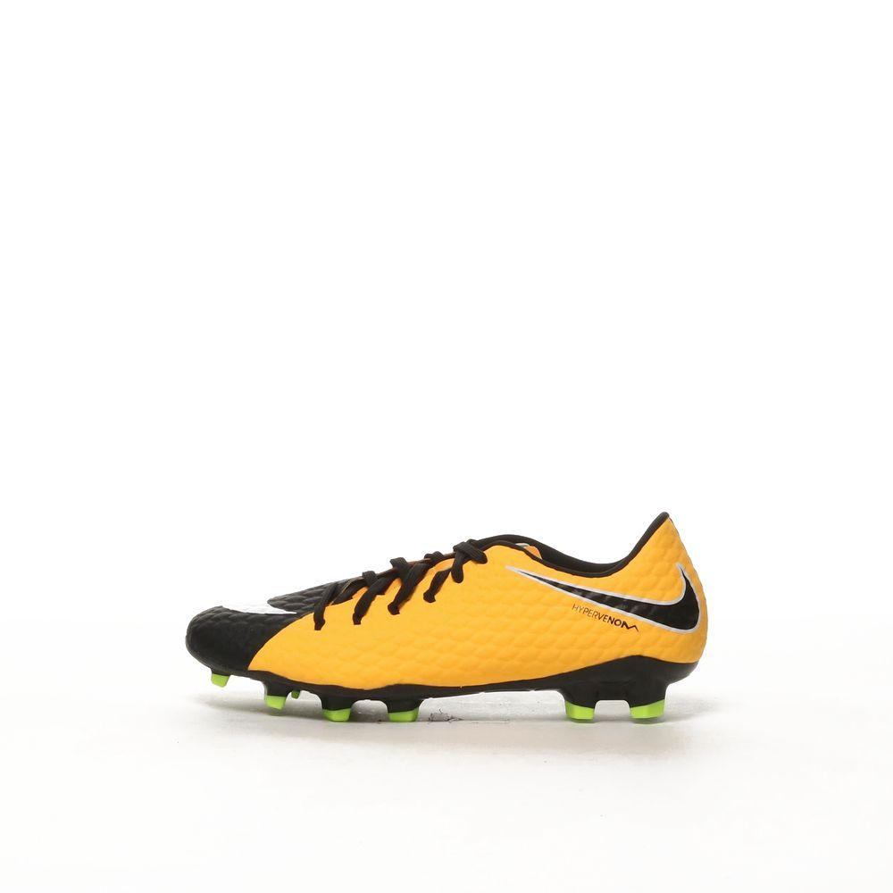 check out e55bc ba2b7 Men's Nike Hypervenom Phelon III (FG) Firm-Ground Football Boot -  LSRORG/WHITE