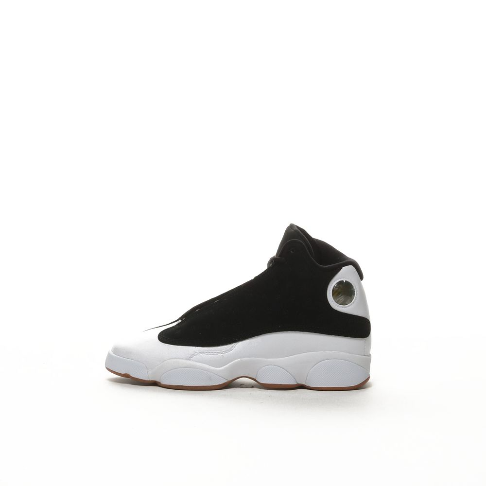 new concept fc43a dec8d Air Jordan 13 Retro - BLACK/WHITE/GUM MEDIUM BROWN/METALLIC GOLD