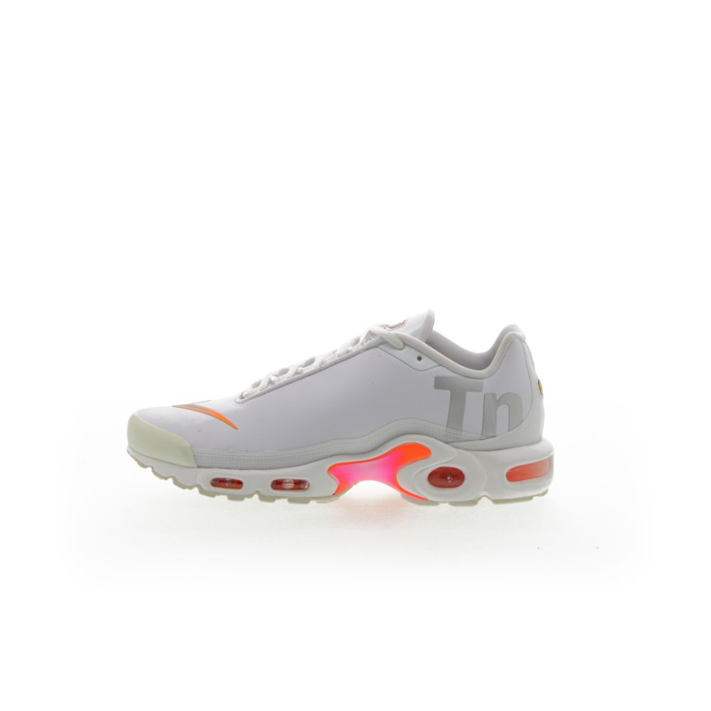 Nike Air Max Plus Tn Se White Total Orange Metallic Silver Resku